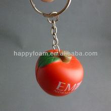 promotional cute keychain in apple shape