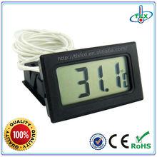 Ideal Black/White Fish Aquarium Tank LCD Digital Water Thermometer