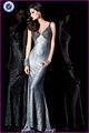 lentejuelas encaje maxi vestido de gala vestidodenoche nueva moda 2013 lx090