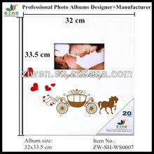 12x12 High quality acrylic/wooden photo album souvenir anniversary wedding gifts album