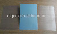 Non-laminating club vip cards silvery pvc for id card print