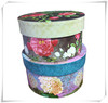 Beautiful flower style paper tube for gift/food/cosmetic packaging