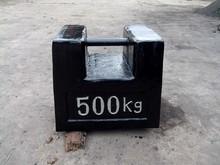 500kg 1000kg 2000kg cast iron load test weight crane test weight