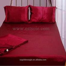 High Quality 100% Charmeuse Silk Bedding Set