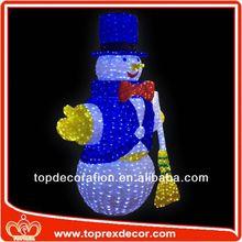 New Model snowman painted christmas balls