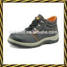 China leather man shoe, buffalo tumble leather working safety shoe