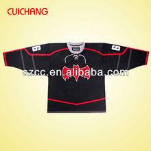 2015 uique custom made sublimation ice hockey jersey