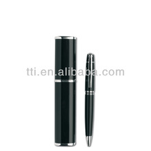 Metal Pens Deluxe in box twist type ball pen promotional slogan logo SA8000 Sedex factory SMETA 4 audit