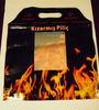 reusable microwave popcorn bags/ microwave hot roast chicken packaging bag/microwaveable grilled chicken bag