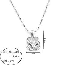 2014 925 sterling silver necklace mini children gps tracker necklace gps bride