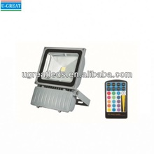 Manufacturing high quality industrial outdoor IR sensor 55w led flood light