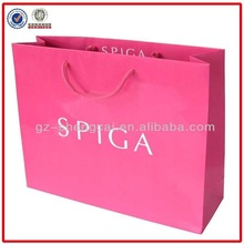 China manufacturer reusable printing paper retail scpc shopping bag
