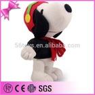 2014 Top Quality Plush Toy Soft Stuffed Snoopy