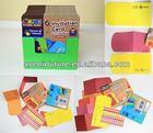 6 Invitation Card and 77 Sticker (Multi-Purpose) - Arts and Crafts Party Invitations