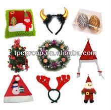 New style christmas hanging decorated felt xmas stocking decoration