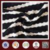 Feimei jacquard stripe fabric poly cotton jacquard stripe fabric