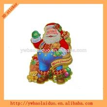 2014 hot sale 3d wall christmas card sticker