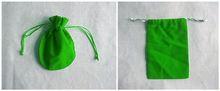customized velvet bag/wine freezer bags/birthday gift bag
