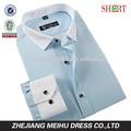 2015 diseñador camisa para hombre equipado camisa de vestir para hombre camisetas