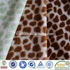 Jacquard polar fleece knitting printing snowflake printed organza velour fabric