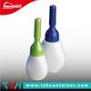 (HO) 3ml 5ml 10ml white oval plastic cosmetic lotion dropper bottle