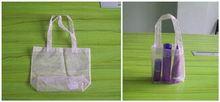 popular organza bag/non woven drawstring shoe bag/organza bags 13x18