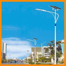 Bridgelux chip 70W solar street light fitting with 2pcs*120W solar module