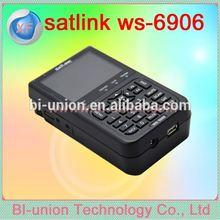 Promotion low price Hot sale Satlink WS 6906 Digital Satellite Finder Meter Menu:English /Russian/Portuguese/Turkish