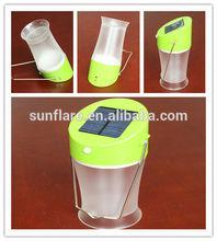 handy hanging rechargeable led solar light/solar lantern