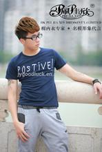 2014 Peijiaxin Casual Style Fashion Design Printed Wholesale Plain T-shirts