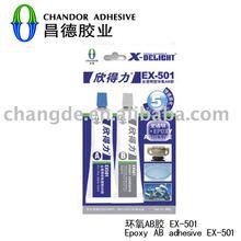 Clear epoxy AB adhesive