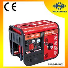 5kw air-cooled electric start diesel generators,luxury type diesel generator