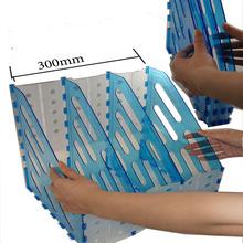 plastic foldable divider desk top archive acrylic folder magazine file