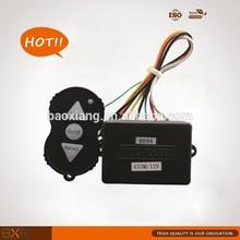 12V 24V automatic electric winch wireless remote control