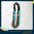 La moda de ganchillo hecho a mano de color azul cuentas diadema, el último diseño de vestido de verano 2014 tendencia