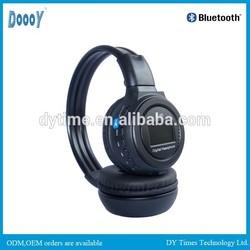 N65 LCD mp3 headphone cheap wireless with memory card