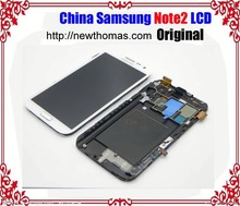 High Copy New lcd display for SamSung note 2 galaxy N7100 with Touch Screen Digitizer Assembly