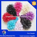 Handmade crochet headband da flor crianças acessórios de cabelo atacado