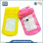 Hot selling Mobile phone pvc waterproof bag,pvc phone waterproof case