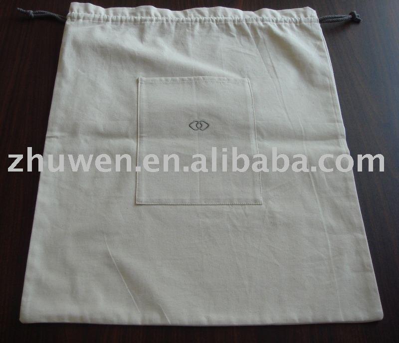 lienzo bolsa de lavandería para el hotel