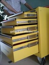 76mm 3-fold heavy load ball bearing drawer slide