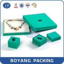 2015 hot sale custom fashional logo printed jewelry box