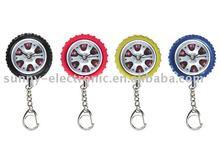 GP1165 Tire Keychain Clocks
