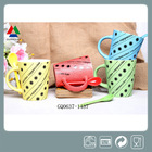 Handmade ceramic mug with dots wholesale