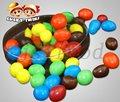 de cacahuate crujiente de chocolate
