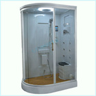 Prefab Modular Bathroom Shower Booth with Wood Floor