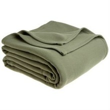 Solid Color Fleece Bed Sheets