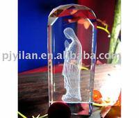 good blank crystal craft laser engraving crystal
