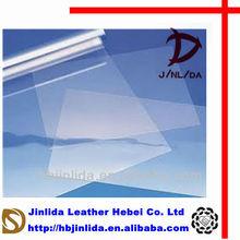 transparent calendering wrap pvc plastic film in roll
