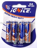 R6P AA UM3 Dry Cell Battery